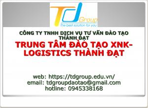 TDgroup- Quy trình vận chuyển đường bộ